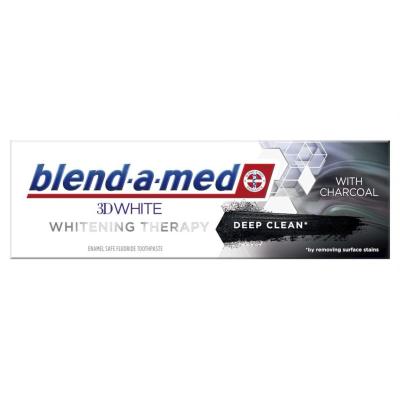 Блендамед Паста за Зъби 3Д Активен въглен 75мл
