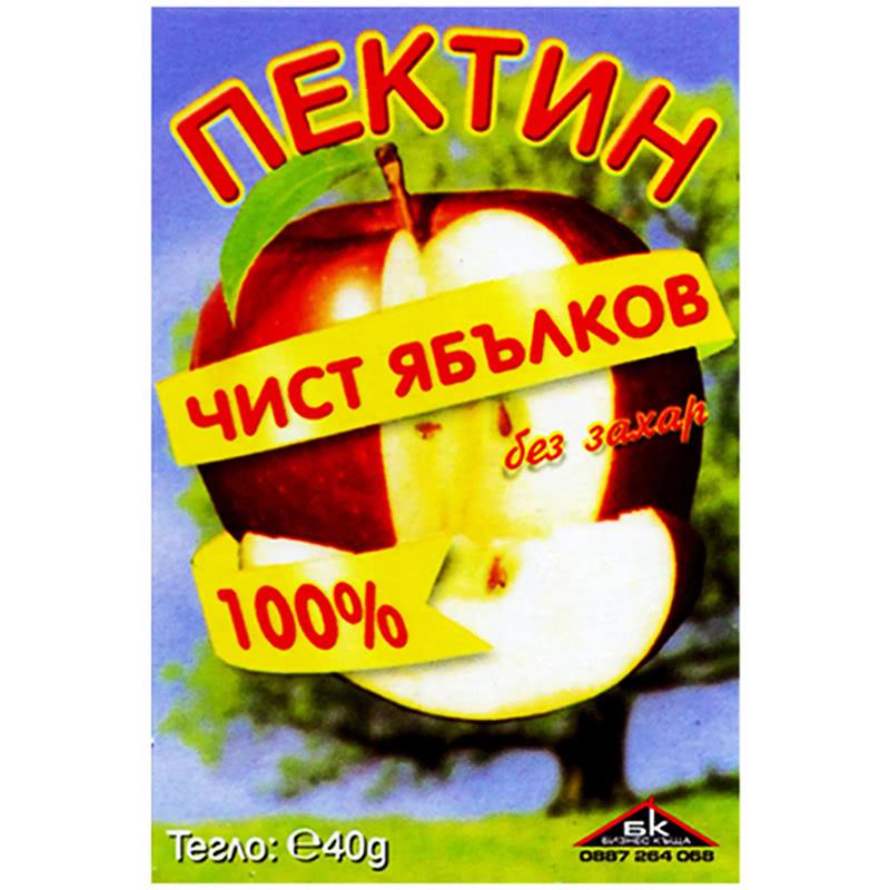 ПЕКТИН 40Г ЯБЪЛКОВ 100% БЕЗ ЗАХАР