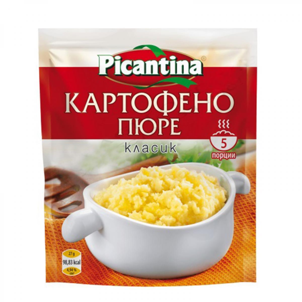 ПИКАНТИНА КАРТОФЕНО ПЮРЕ 135Г НАТУРАЛНО