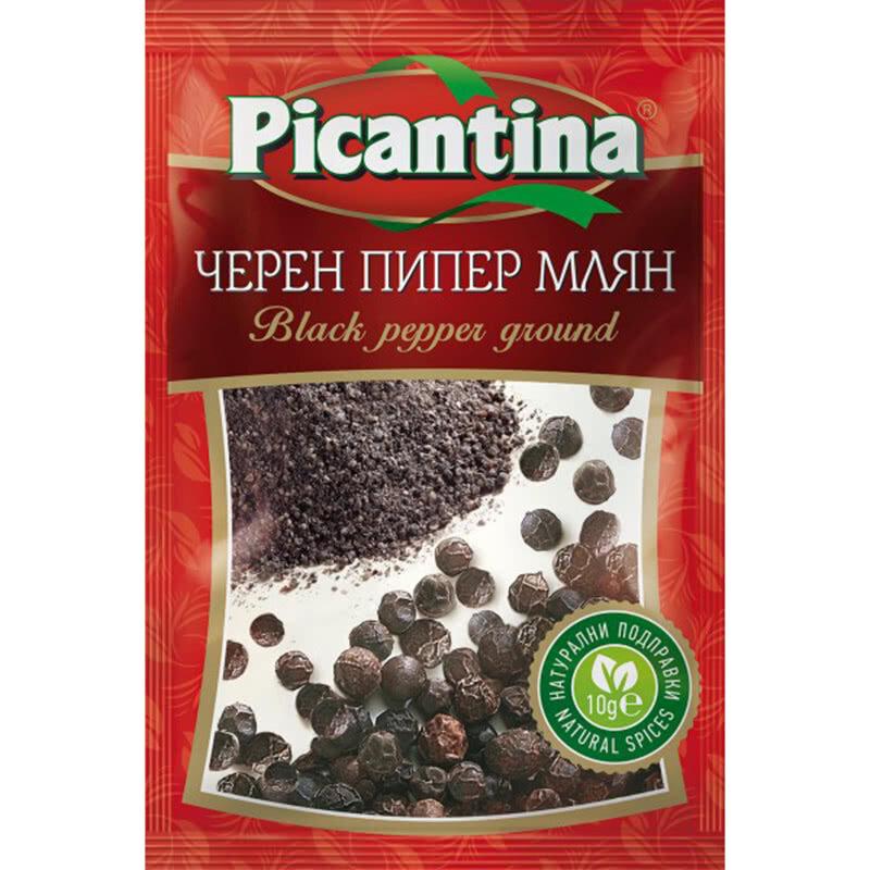 ПИКАНТИНА ПОДПРАВКА 10Г ЧЕРЕН ПИПЕР МЛЯН