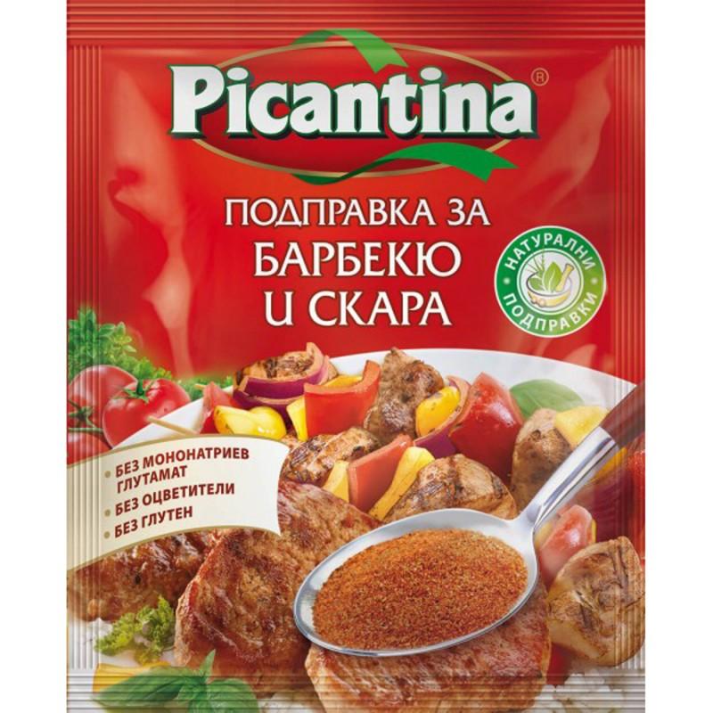 ПИКАНТИНА ПОДПРАВКА ПЛИК 70Г БАРБЕКЮ