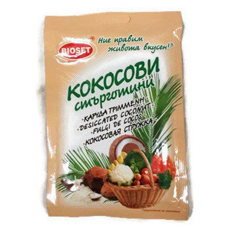 БИОСЕТ КОКОСОВИ СТЪРГОТИНИ ПЛИК 20Г 8215