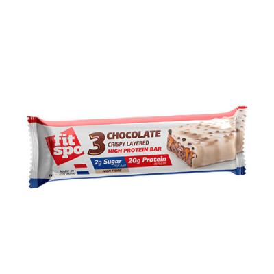 Фит Спо Протеинов Бар Троен Шоколад 55г