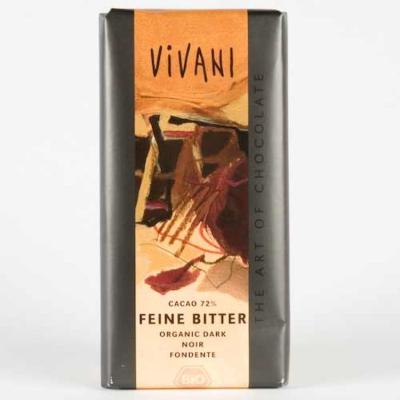Вивани Шоколад Натурален 71% Какао 100г