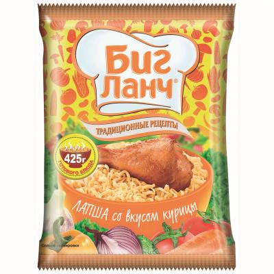 Биг Ланч Нудъли Инстантни Пиле 75г