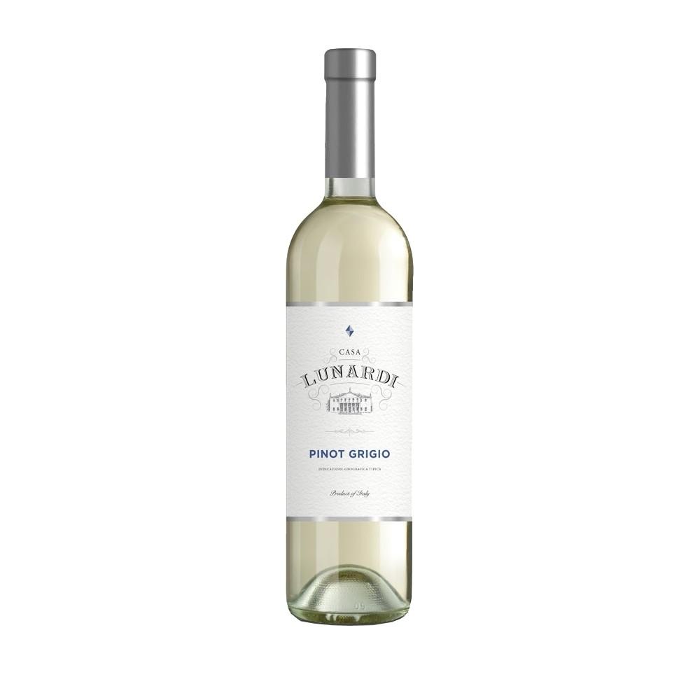 Каса Лунарди Бяло Вино Пино Гриджо 0.750Л