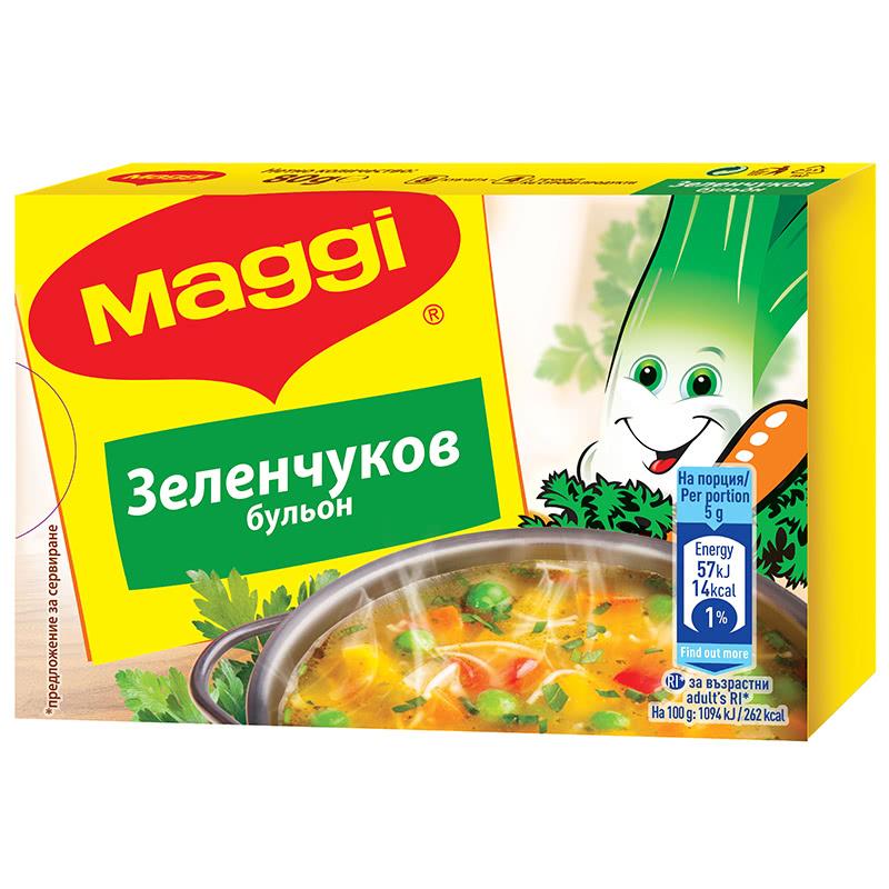 МАГИ БУЛЬОН 80Г ЗЕЛЕНЧУКОВ