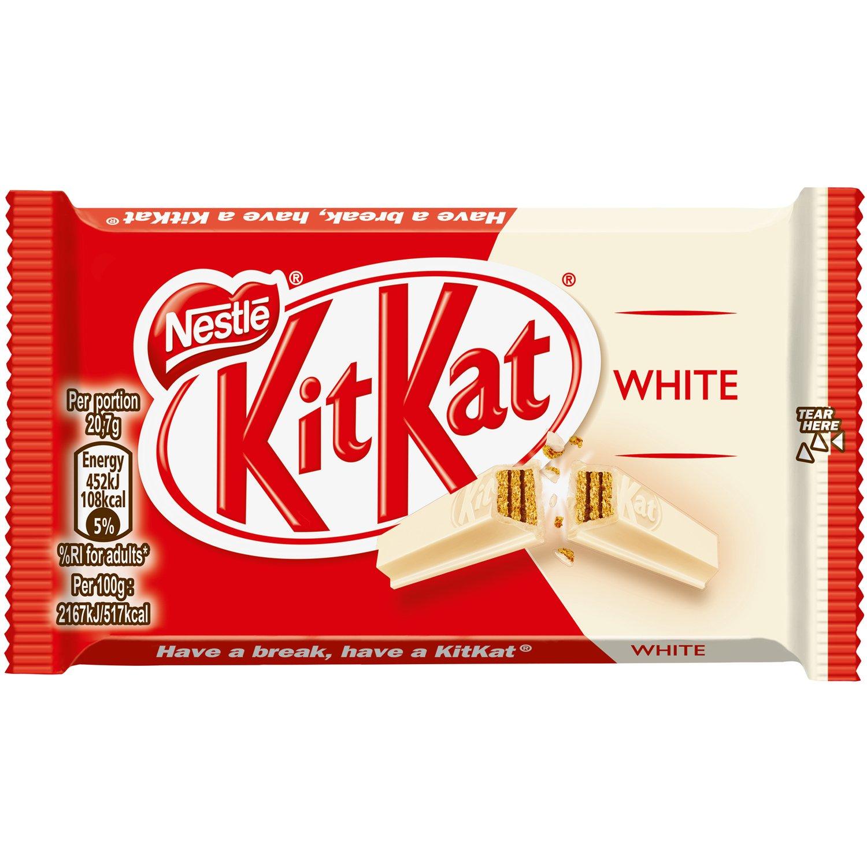 Кит Кат Десерт Фор Фингърс Бял Шоколад 41.5Г
