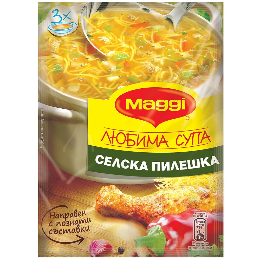 МАГИ СУПА 46Г СЕЛСКА ПИЛЕШКА