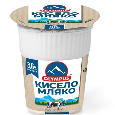 ОЛИМПУС КИСЕЛО МЛЯКО 400Г 3.6%