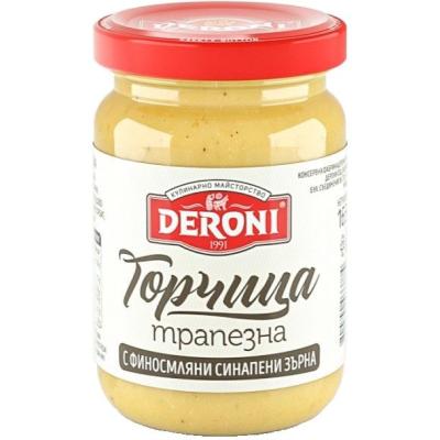 Дерони Горчица Трапезна 165Г