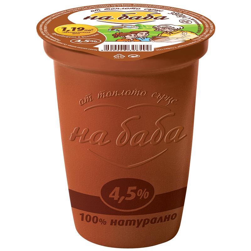 НА БАБА КИСЕЛО МЛЯКО 380Г 4.%