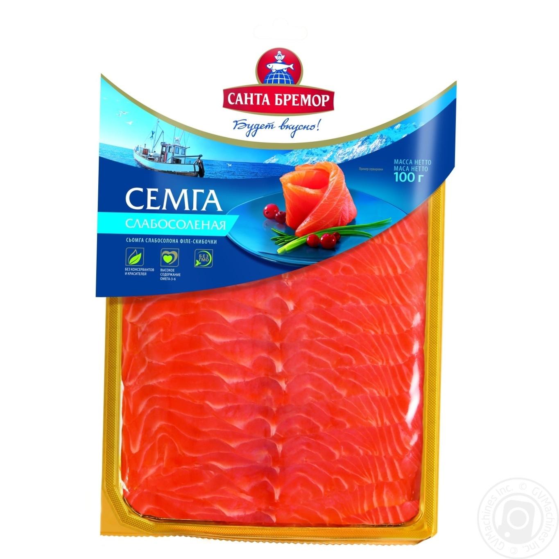 СЬОМГА ПУШЕНА ФИЛЕ 100Г 7301