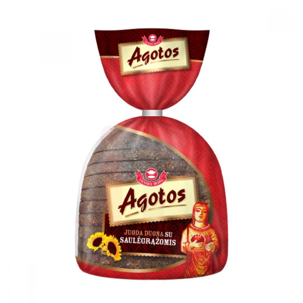 Агата Хляб Черен Слънчогледови семки 375г