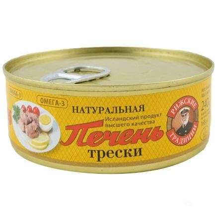 ДРОБ ОТ ТРЕСКА В СОБСТВЕН СОС 240Г
