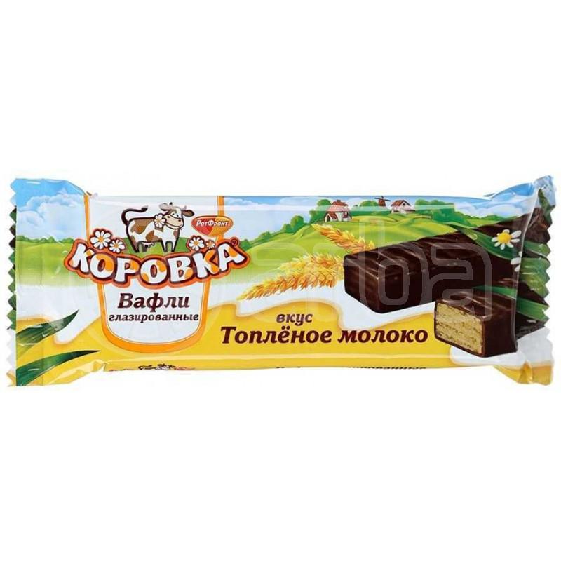 КОРОВКА ВАФЛИ 50Г ГЛАЗУРА 391