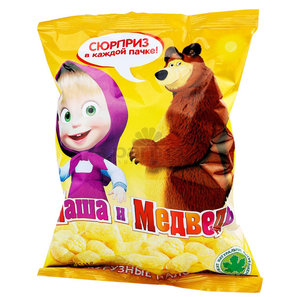 Маша и Мечока Пръчици Царевични 75г