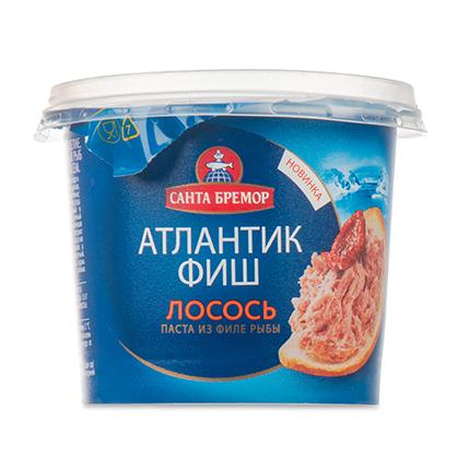 САНТА БРЕМОР РИБНА ПАСТА АТЛАНТИК ФИШ СЬОМГА 140Г