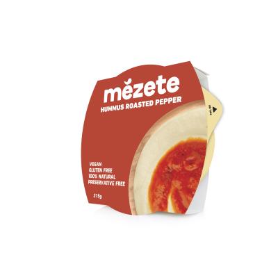 Мезете Хумус Печена Червена Чушка 215г