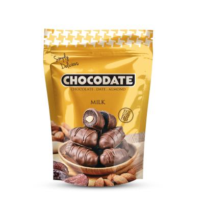 Симпли Делишъс Фурми с Бадем в Млечен Шоколад 250г