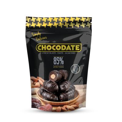 Симпли Делишъс Фурми с Бадем в Натурален Шоколад 85% 250г