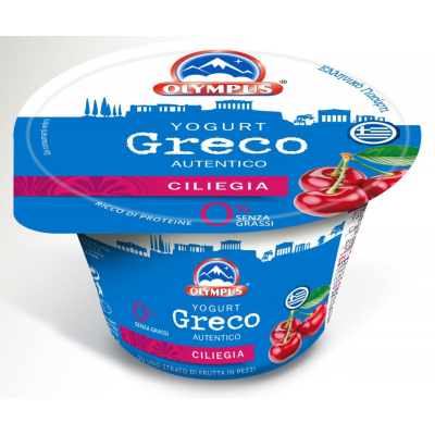 Олимпус йогурт череша 150г