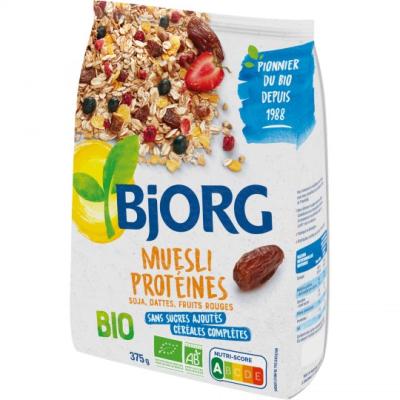 Бьорг мюсли протеиново 375Г