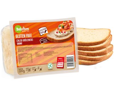 Балвитен Безглутенов Хляб Кралски Бял Роял 250г