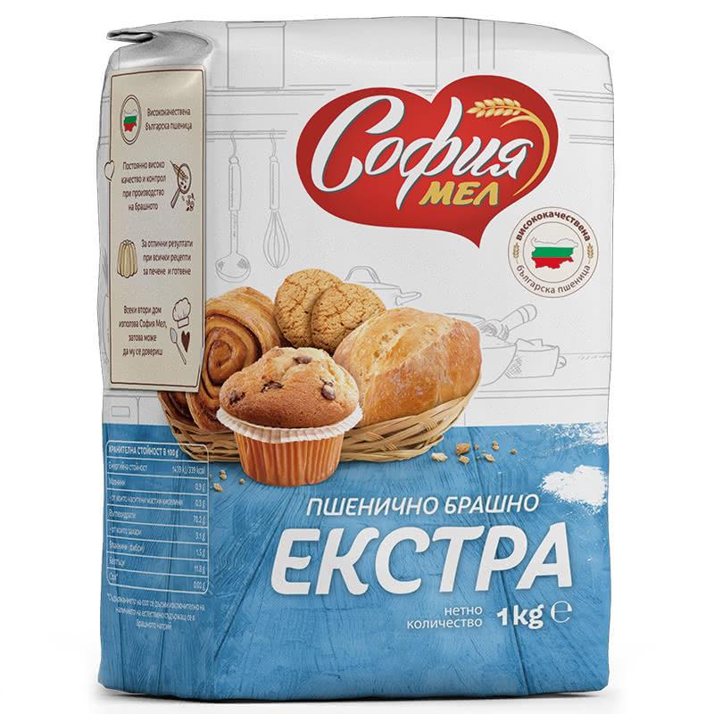 СОФИЯ МЕЛ БРАШНО ЕКСТРА 1КГ