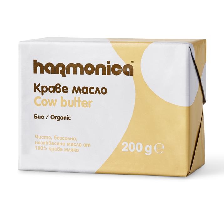 Хармоника Краве Масло Био 200г