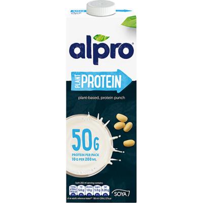 Алпро протеинова напитка натурална 1л