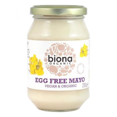 Биона Био веган майонеза без яйца 230г