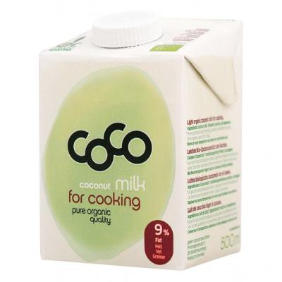 Коко Био кокосово мляко за готвене 500мл