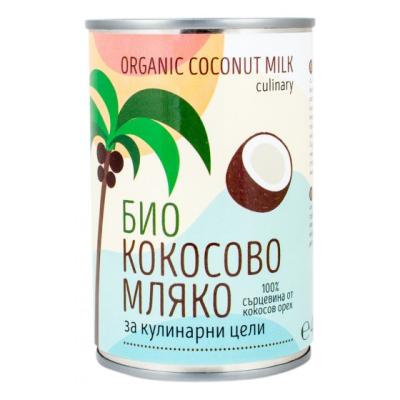 Зоя кокосово мляко за готвене био 400г