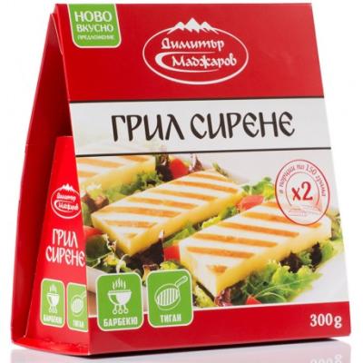 МАДЖАРОВ СИРЕНЕ ГРИЛ 300Г