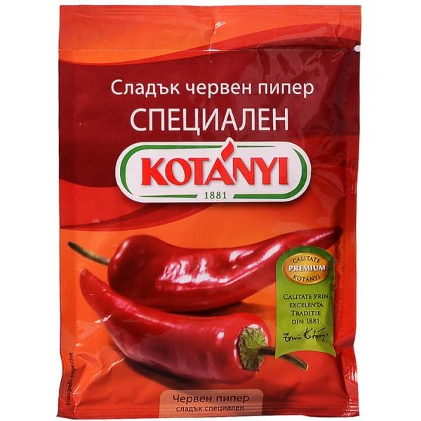 КОТАНИ ПОДПРАВКА ПЛИК ЧЕРВЕН ПИПЕР СЛАДЪК 40Г 1920