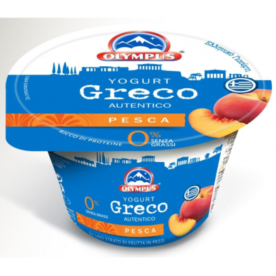 Олимпус йогурт праскова 150г