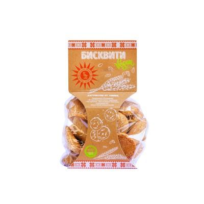 Бисквити веган натурални 120г