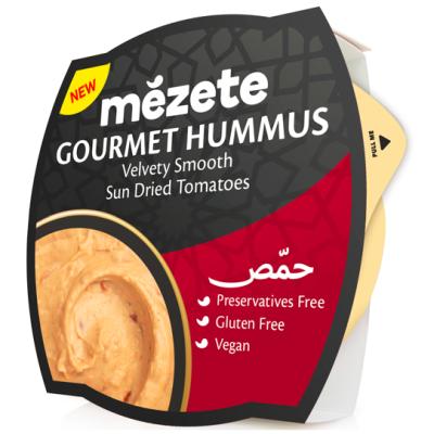 Мезете Хумус Сушени домати 215г