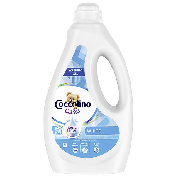 Коколино кеър гел бяло пране 28 пранета 1.12л